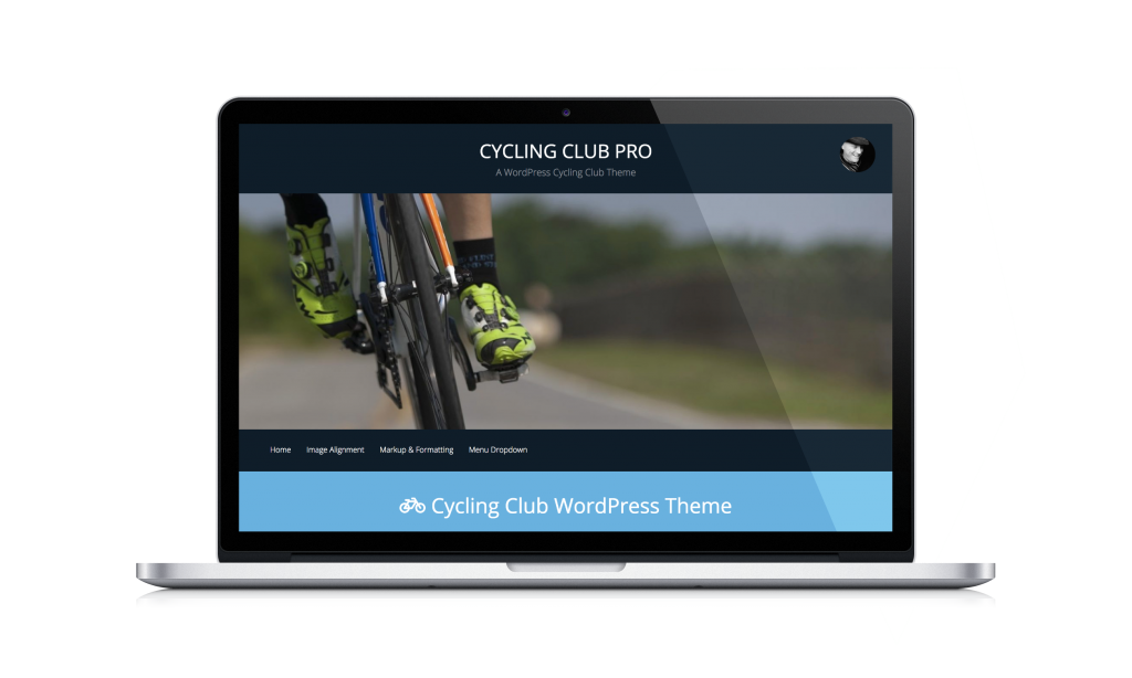 wordpress cycling theme